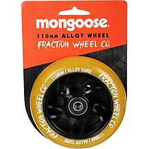 image of Mongoose 110mm Alloy Wheel Black/Gum