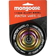 image of Mongoose 110mm Alloy Wheel Oil/Black