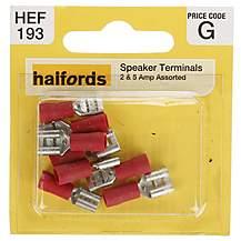 image of Halfords Assorted 2 & 5 Amp Speaker Terminals (HEF193)