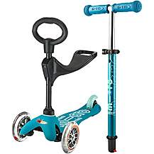 image of 3 in 1 Mini Micro Deluxe Aqua Kids Scooter