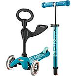 3 in 1 Mini Micro Deluxe Aqua Kids Scooter
