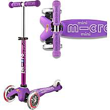 image of Mini Micro Deluxe Purple Kids Scooter