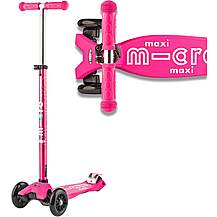 image of Maxi Micro Deluxe  Pink Kids Scooter