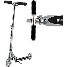 image of Micro Sprite Silver Kids Scooter
