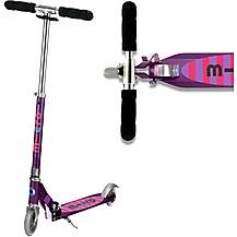image of Micro Sprite Purple Stripe Kids Scooter