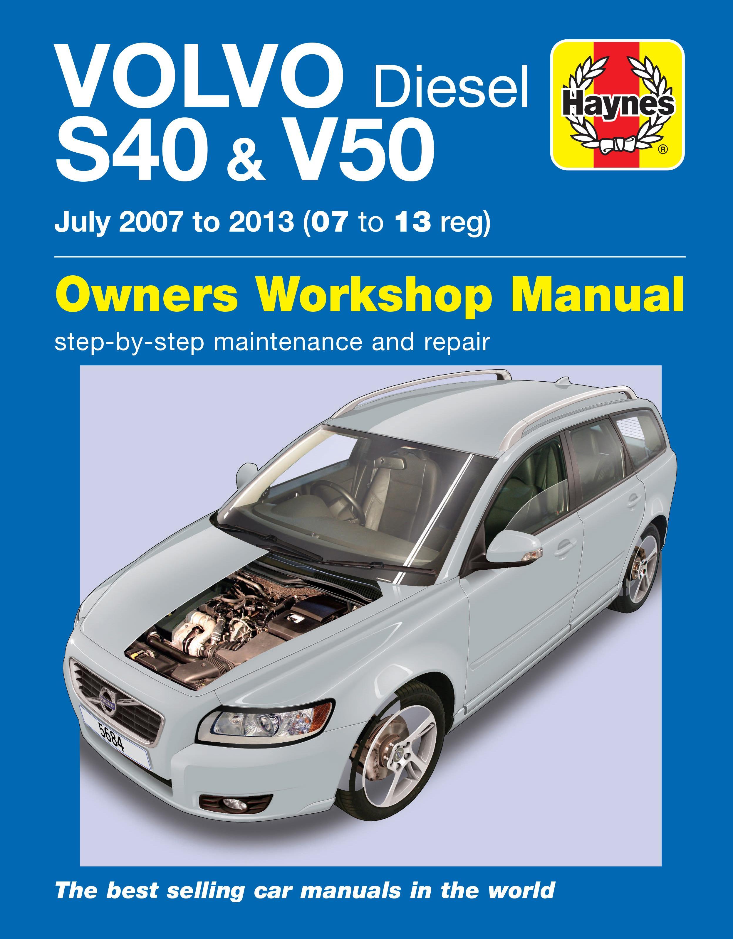 haynes volvo s40 v50 diesel 07 1 rh halfords com 2006 Volvo S40 2018 Volvo S40