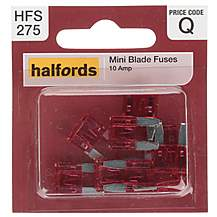 Fuses, Electricals & Fixings | Car Fuses | Halfords