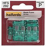 Halfords Fuse Standard Blade 30 Amp  (HFS292)