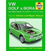 image of Haynes Volkswagen Golf & Bora (April 98 - 00) Manual
