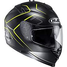 HJC IS17 Lank Helmet - Black/Yellow