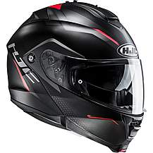 image of HJC IS Max 2 Dova Helmet - Black/Red