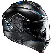 image of HJC IS Max 2 Dova Helmet - Black/Blue