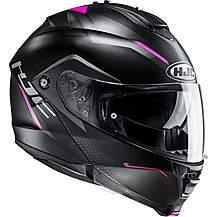 image of HJC IS Max 2 Dova Helmet - Black/Pink