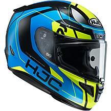 image of HJC RPHA11 Chakri Helmet - Blue/Fluorescent