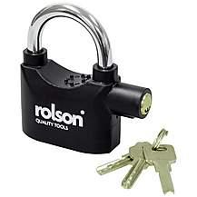 image of Rolson Alarm Padlock