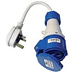image of W4 Mains Hook Up Adaptor UK