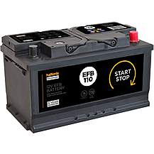 Halfords EFB110 Start/Stop EFB 12V Car Batter