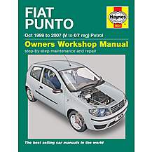 image of Haynes Fiat Punto Petrol (99-07) Manual