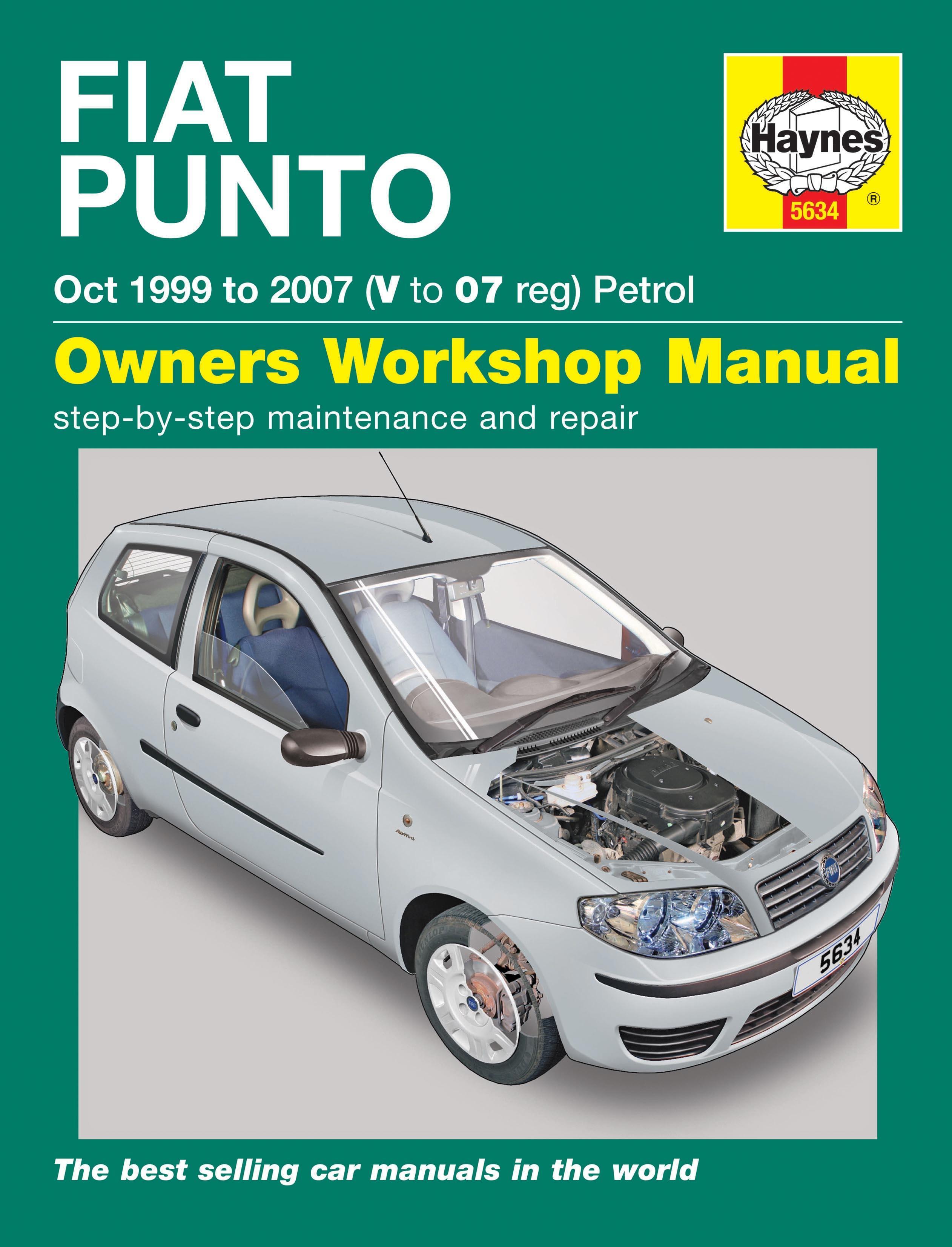 haynes fiat punto petrol 99 07 ma rh halfords com 2004 Fiat Punto Fiat Punto 2001