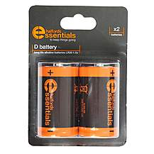 image of Halfords Essential Batteries D x2