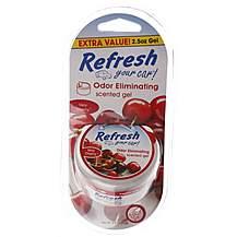 image of Refresh Gel Very Cherry Car Air Freshener 2.5 oz