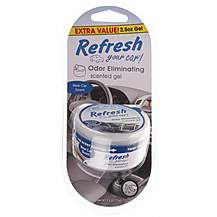 image of Refresh Gel Pot New Car Air Freshener