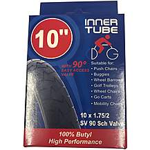 image of Rubena Pushchair Inner Tube - 10 x 1.75/2 Bent Valve