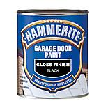 Hammerite Garage Door Paint Gloss Black 750ml