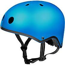 image of Micro Scooter Glossy Blue Kids Helmet 2018 X