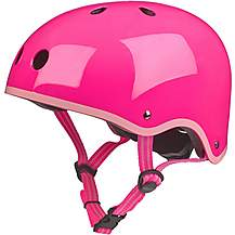 image of Micro Scooter Glossy Pink Kids Helmet 2018 X