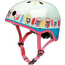 image of Micro Scooter Owl Kids Helmet - Medium (53-57cm)