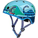 image of Micro Scooter Scootersaurus Kids Helmet - Small (48-52cm)