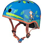 image of Micro Scooter Jungle Kids Helmet - Small (48-52cm)