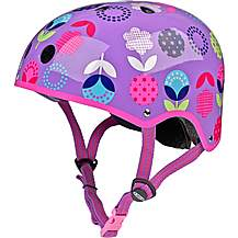 image of Micro Floral Dot Kids Helmet - Small (48-52cm)