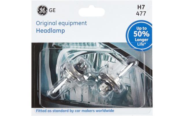 Ge H7 477 Car Headlight Bulb 50 Per - Manifold-by-anthony-leyland