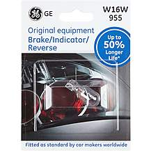 image of GE 955 W16W Car Bulb 50 percent Longer Life Single Pack