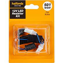 image of Halfords 501 LED resistor kit
