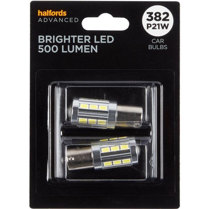 382 Super Bright LED Car Bulb Halfords