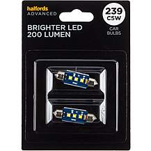 image of 239 Super Bright LED Car Bulb Halfords Advanced Twin Pack