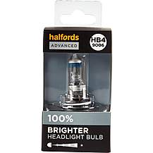 image of HB4 9006 Car Headlight Bulb Halfords Advanced Up To +100 percent Brighter Single Pack