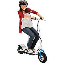 image of Razor E300S Electric Scooter - Blue/White