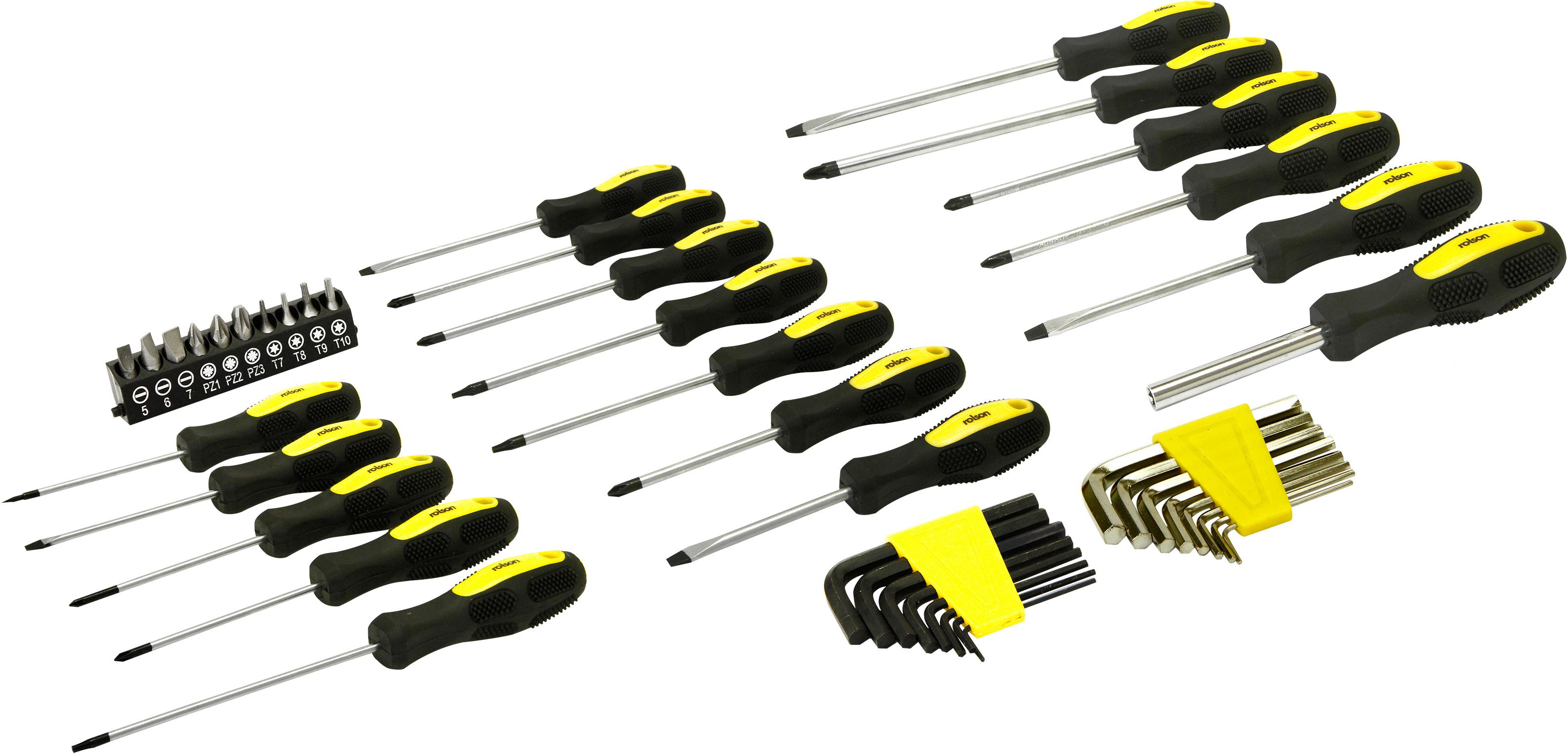 Rolson screwdriver set