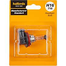 image of H16 716 Car Headlight Bulb Manufacturers Standard Halfords Single Pack