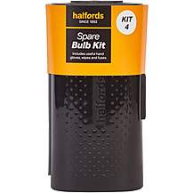 image of Halfords Spare Car Bulb Kit 4 with Small Bulbs