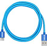 Halfords Type-C to USB Cable 1.2m - Blue