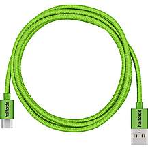 image of Halfords Type C Cable 1.2m Green