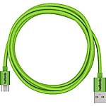 image of Halfords Type-C to USB Cable 1.2m - Green