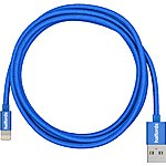 image of Halfords Lightning Cable 1.2m - Blue