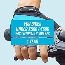 image of Leisure CycleCare - Hydraulic Brake 1 Year