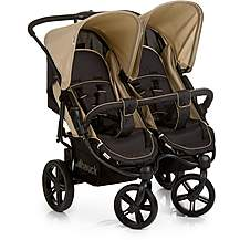 image of Hauck Roadster Duo SLX Double Pushchair - Caviar/Almond